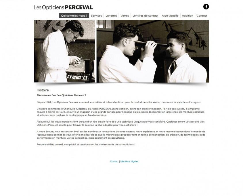 a133c050b86d3d Site Internet Les Opticiens Perceval - Stéphane COUTELOT